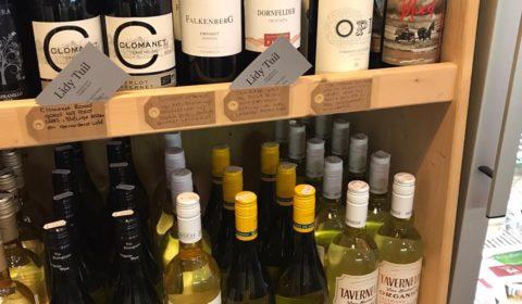 biologische wijnen en 'Wijnen van Lied'